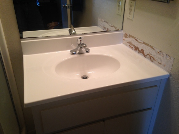 Sink Replacement mid-project