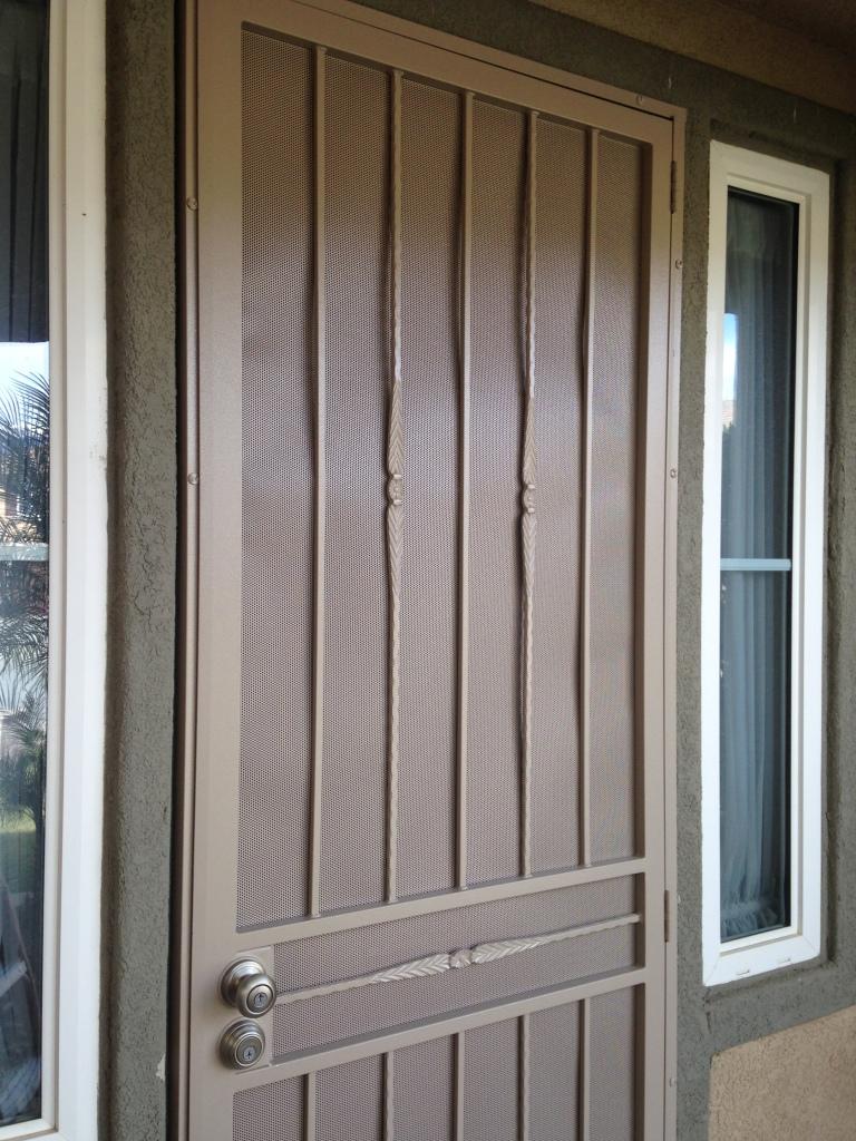 Security Door installed
