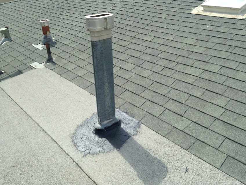 Roof Vent sealing against rain