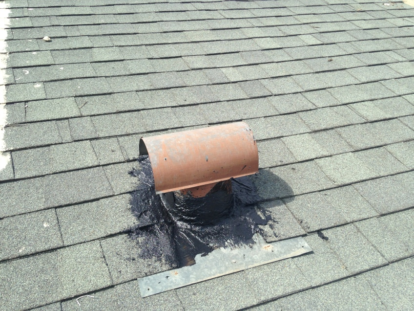 Roof Vent leak sealing